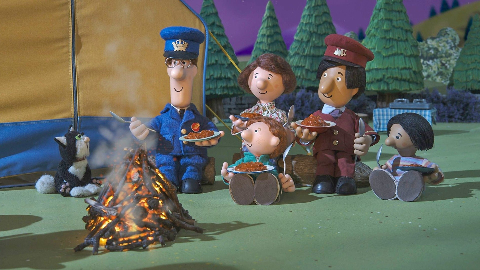 Postman Pat's Camping Chaos
