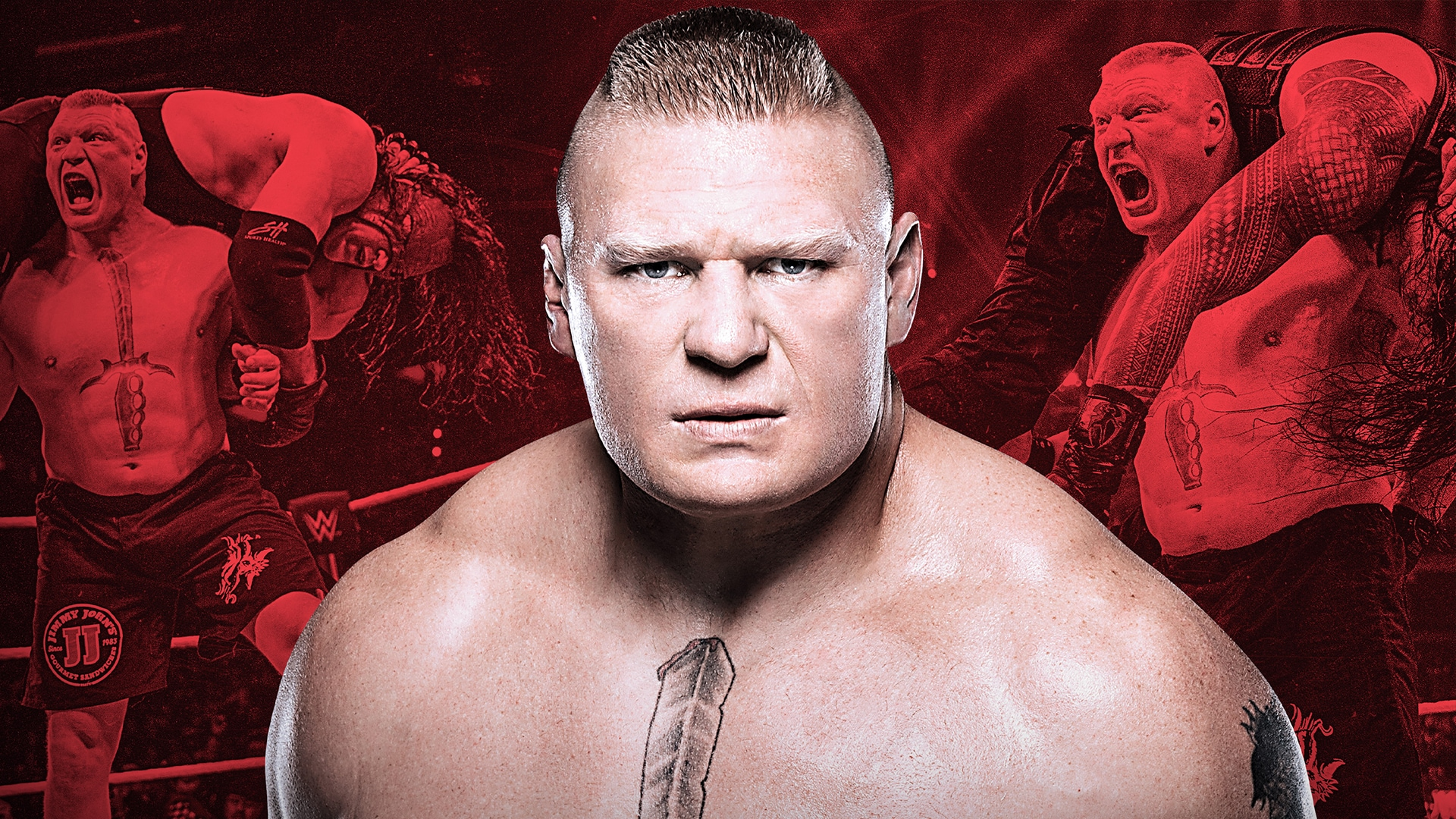 Brock Lesnar's Most Dominant Matches Part 1