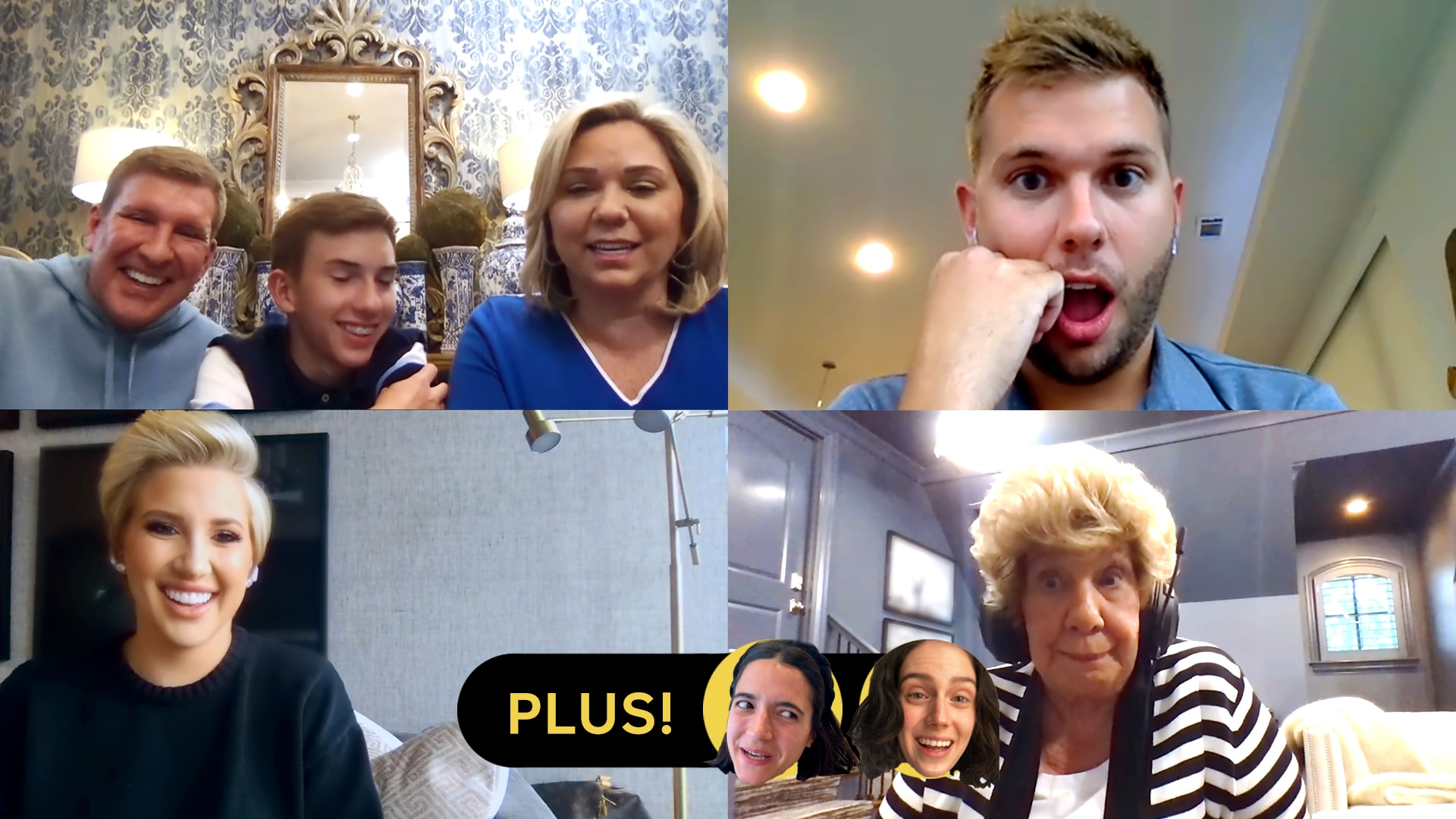 Todd Chrisley and Family; Alyssa Limperis and Eva Victor