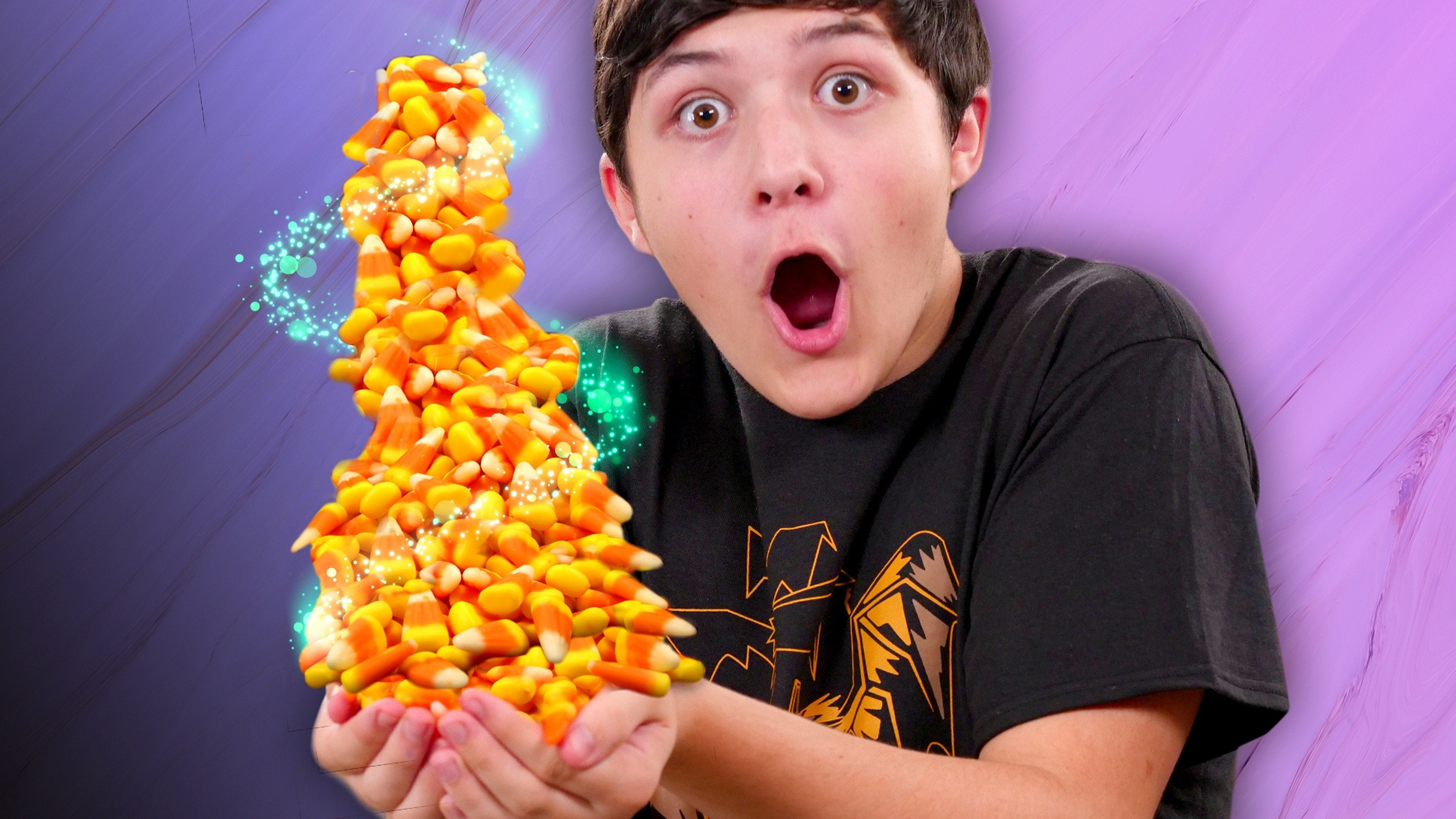 Instant Candy Corn Trick