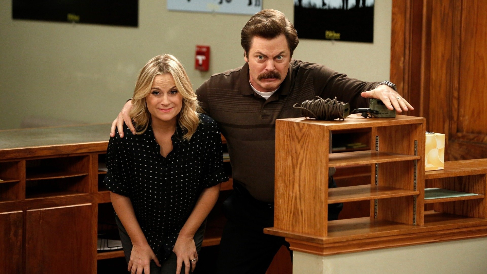 Leslie and Ron