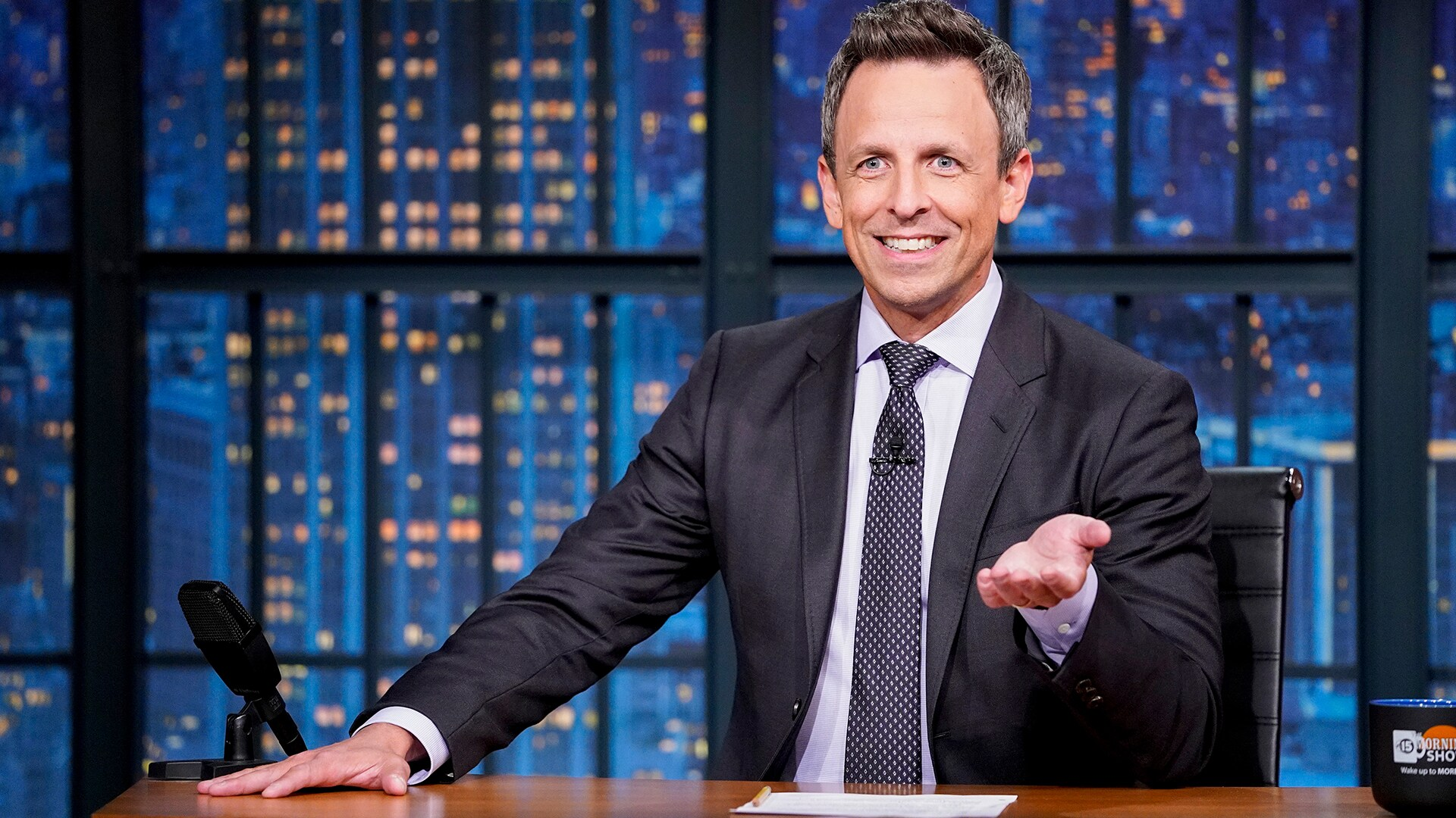Watch Late Night with Seth Meyers Online   Peacock