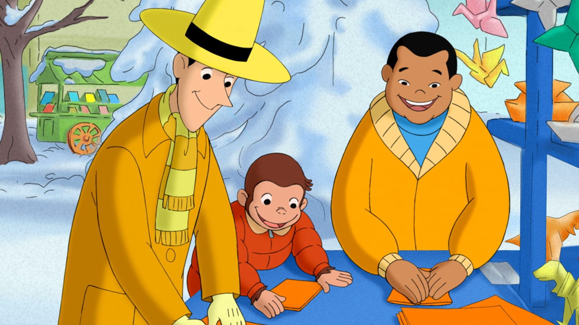 Curious George and the Snow Festival