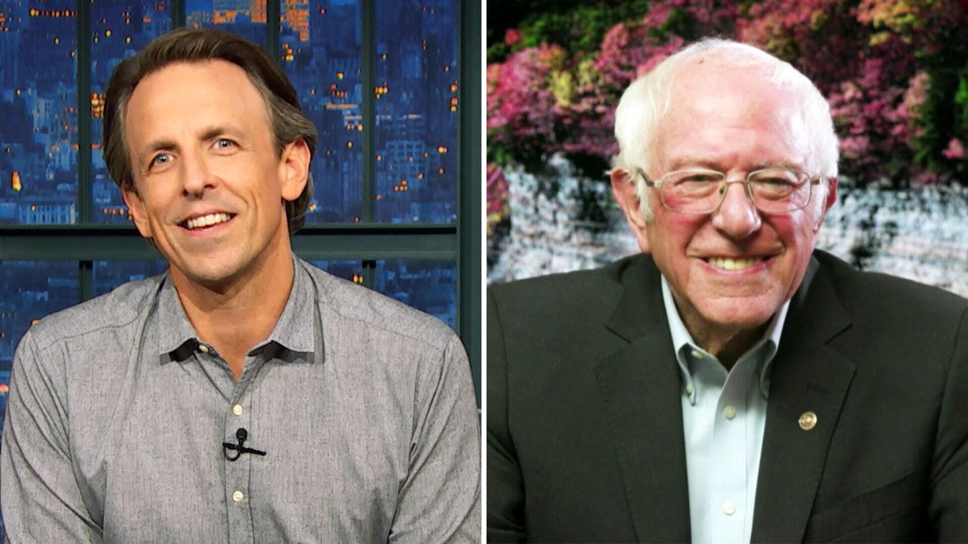 Bernie Sanders; Shepard Smith; Sleaford Mods