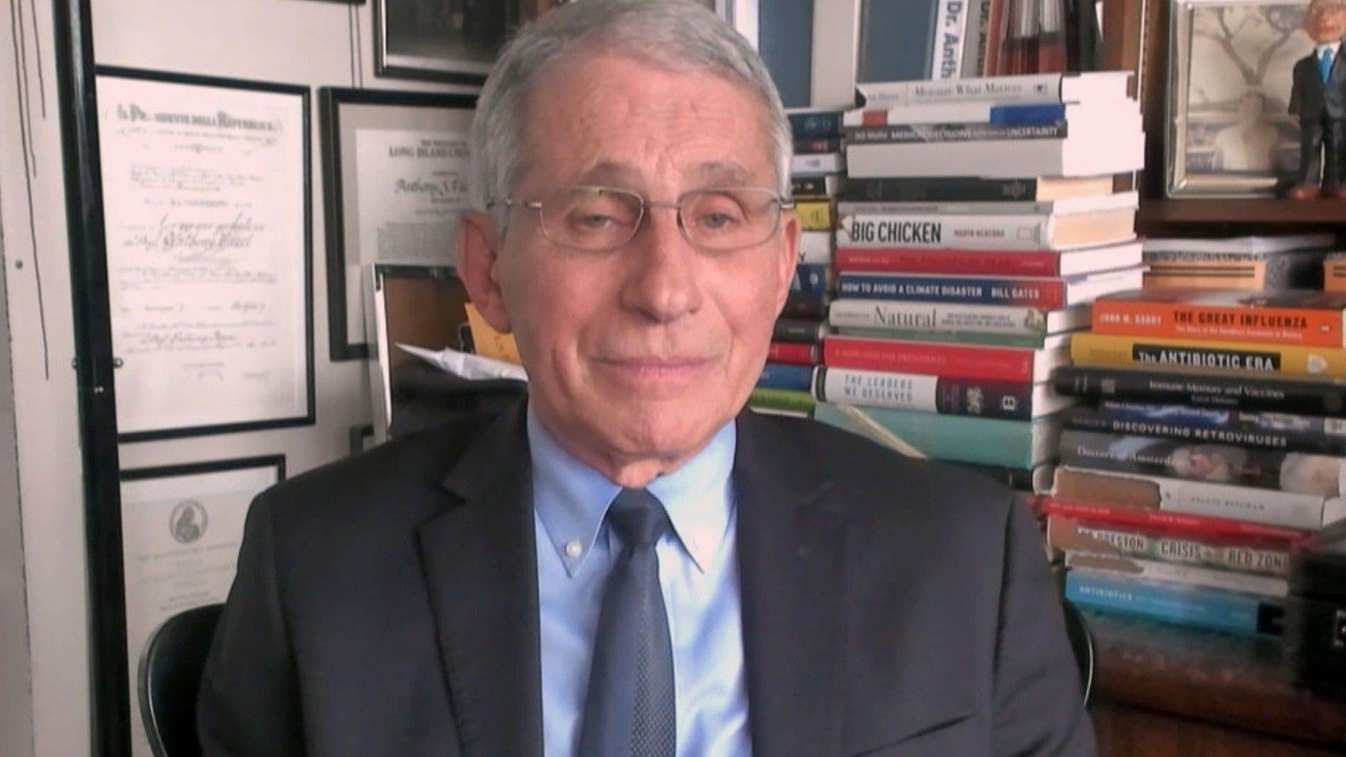 Dr. Anthony Fauci; Diane von Furstenberg