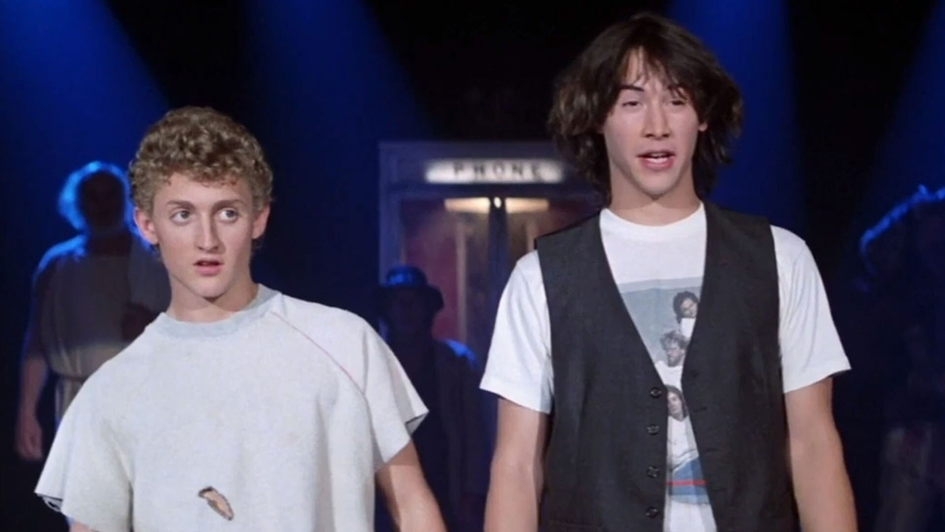 Bill & Ted; Judd Apatow