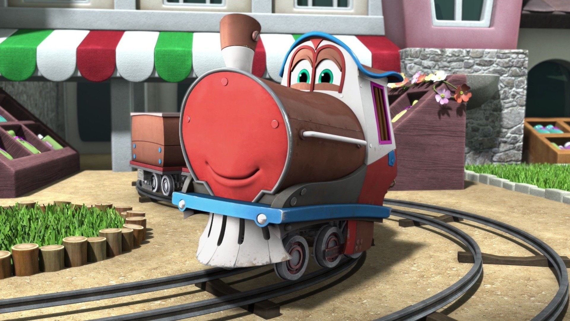 Go, Robot Trains!