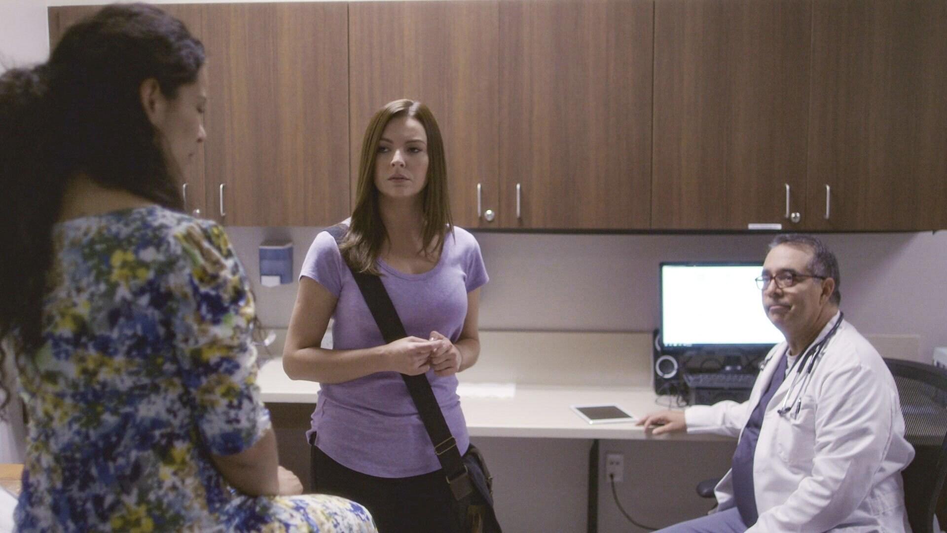 Eliza está embarazada