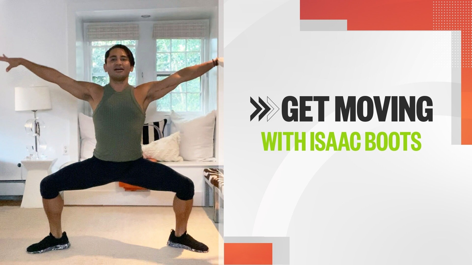 Get Moving With Isaac Boots