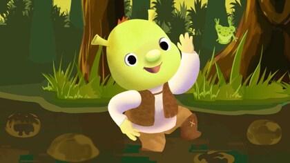 Bubble Bubble with Shrek